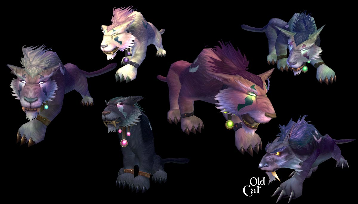 WoW: New kitty and bear druid forms! « ~ pandalin express ~
